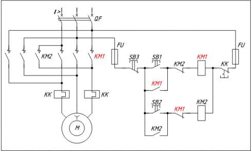 как начертить электрическую схему в компасе